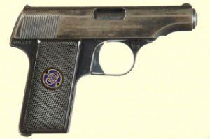 A pistola Walther modelo 8