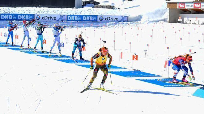 biatlo Olimpadas de PyeongChang 2018 esqui