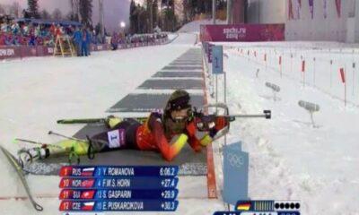 biatlo Olimpadas de PyeongChang 2018 tiro