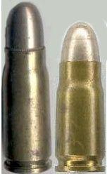 Luger 11 Cartucho 7.65X21mm ou 7.65 mm Parabellum