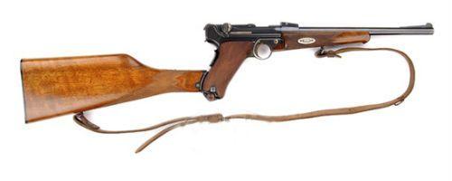 Luger 18 Lado direito da carabina modelo 1902