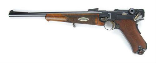 Luger 19 Carabina modelo 1902 em calibre 765mm Parabellum
