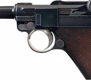 Luger 25.1 Diferença dos guarda matos sem rebaixo Old Model
