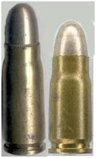 Luger 2 Cartucho denominado de 765mm Borchard