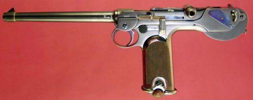 Luger 5 Pistola Borchardt C93