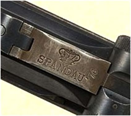 15. A farsa das pistolas produzidas pelo Arsenal de Spandau