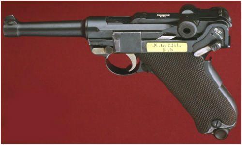 19. Luger Vickers do contrato holandes no período de 1915 a 1917