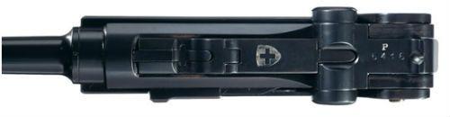 23. Detalhe da parte superior da pistola modelo 1919
