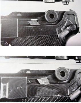 6. Nas fotos acima temos a modificação do disparador sear para permitir recuo do cano mesmo com arma travada