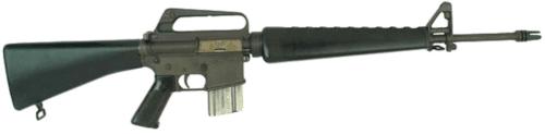 05. versão do fuzil Colt AR 15