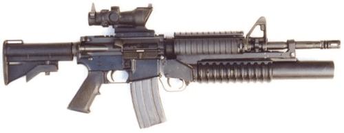13. Carabina M4A1