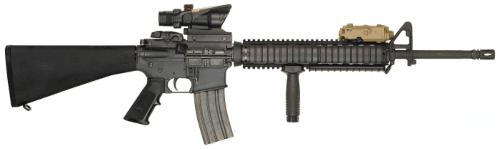 15. Fuzil M16A4