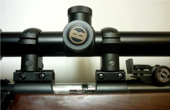 04 Detalhe de uma luneta norte americana Bushnell